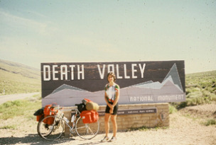 Entering Death Valley, headed for Furnace Creek