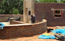 Plastic Bottles Made Into Homes