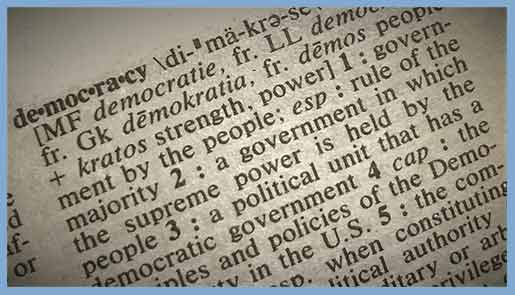 PLUTOCRACY, AUTOCRACY OR DEMOCRACY?